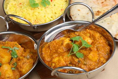 Indyjski kurczak curry