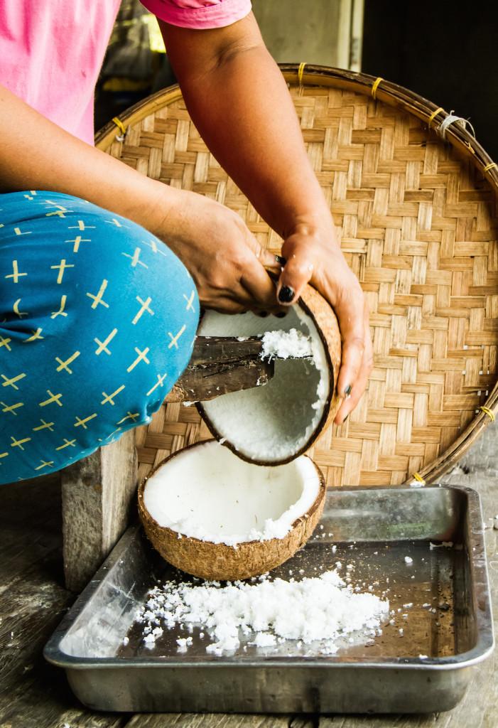 produkcja mleczka kokosowego