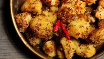 Ziemniaki z sezamem