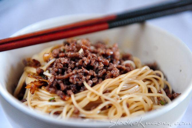 Syczuańskie noodle Dan-dan