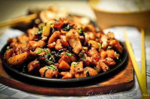 kurczak z fermentoana soją