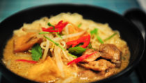 Malezyjskie noodle curry Kare Laksa