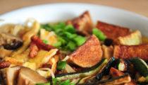 Zupa grzybowo-noodlowa