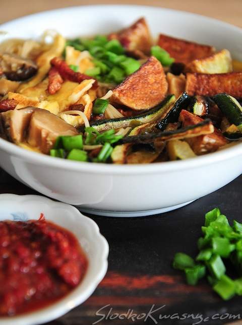 zupa grzybowo noodlowa