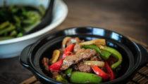Wołowina w sosie pieprzowym