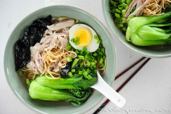 Domowy ramen czyli zupa z noodlami