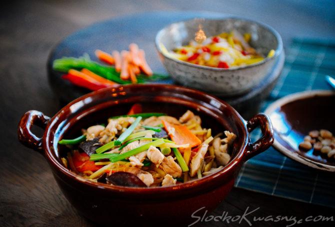 Imbirowy kurczak – przepis tajski