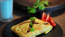 Tajski omlet z nadzieniem