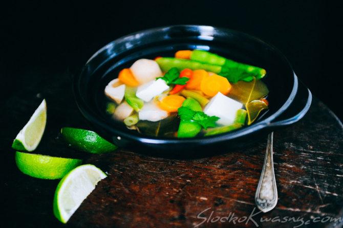 Tom Yum Jai czyli wersja wegetariańska