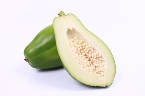 Zielona papaja