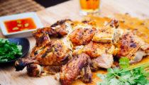 Tajski kurczak z grilla z kurkumą