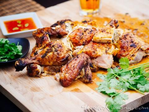 grillowany kurczak z kukrumą