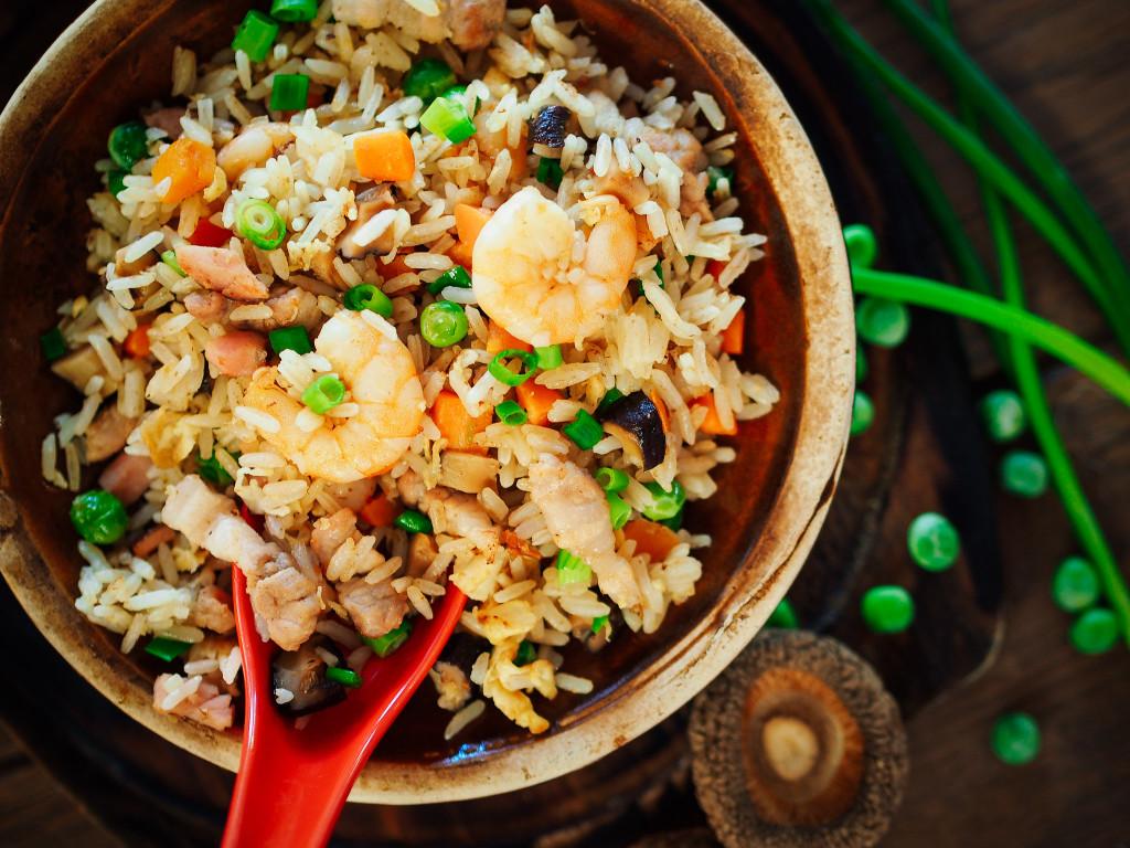 smazony ryz