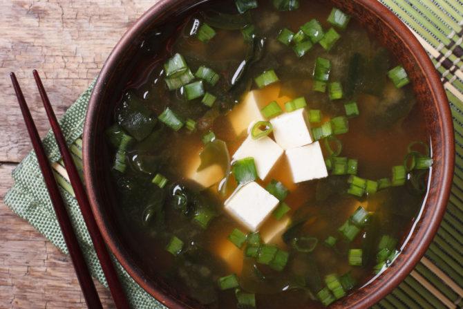 Wywar dashi i zupa miso