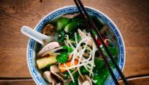Tajska zupa a'la SłodkoKwaśny
