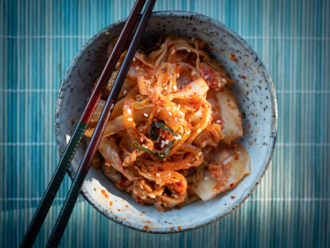 Kimchi – koreańska kiszona kapusta